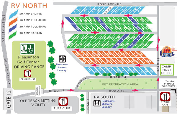 Lot Map – The Fairpark RV